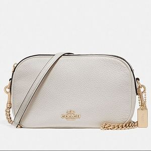 NWT COACH | Isla Chain Cross Body Bag White Chalk